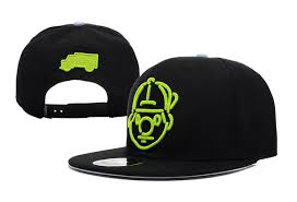 Trukfit The Tommy Neon Snapback In Black For Men