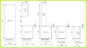Kitchen Cabinet Sizes Standard Kitchen Cabinet Sizes Chart