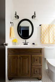 bathroom colors yellow. Yellow And Brown Cottage Bathroom Colors