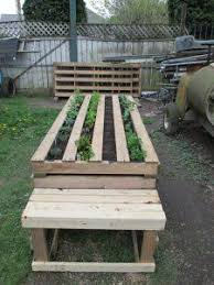 ... Flower Beds Raised Things To Make Out Of Pallets A Bed Made Home Design  22 ...