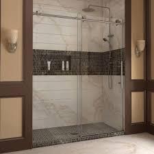 double frameless sliding shower doors