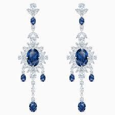 palace chandelier pierced earrings