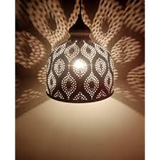Logam Black & Gold Moroccan <b>Ball</b> Pendant Hanging Ceiling <b>Light</b> ...