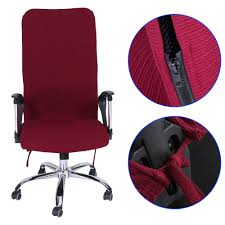 office armchair covers. Removable Stretch Swivel Computer Chair Covers Office  Armchair Comfortable Seat Slipcovers-in Cover From Home \u0026 Garden On Office Armchair Covers T
