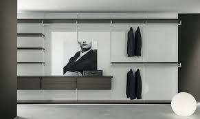 modern walk in closet elegant minimalist closet design