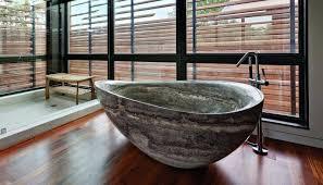 rock bathtub stone bathtubs that will rock your bathroom bathtub rock proctor ok