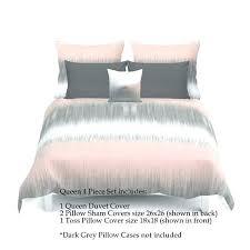 gray duvet cover twin dark grey queen single bedding set