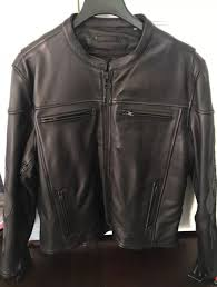 wilsons leather mens performance motorcycle jacket w