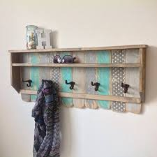 Reclaimed Wood Coat Rack Shelf Delectable Amazon Entryway Wood Shelf Rustic Pallet Coat Rack