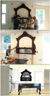 Unfitted Kitchen Furniture Diy Kitchen Remodel Antique Mirror Over Kitchen Sink Victoria