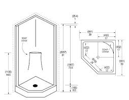 stand up shower size stand up shower dimensions astounding standard corner shower size pictures best inspiration