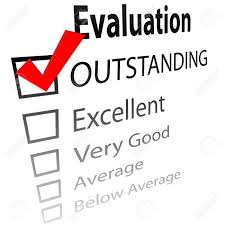 An Evaluation For Job Performance Or A Grade Report Card With ...