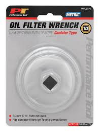 Amazon.com: Performance Tool W54076 21mm Canister Type Oil Filter ...
