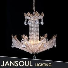 Luxury New Design Fancy Crystal Chandelier Beautiful Home Decorative  Quality Victorian Hotel Pendant Light From China