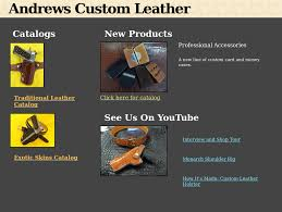 andrews custom leather competitors revenue and employees owler company profile
