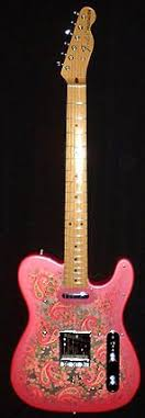best images about guiters fender telecaster james burton s pink paisley telecaster
