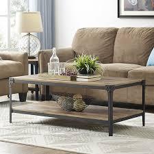 choosing rustic living room. Image Of: Rustic Wood Coffee Table Ideas Choosing Living Room