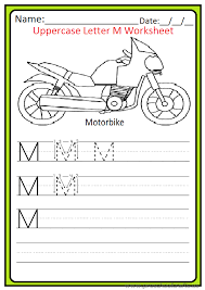 Uppercase Letter M Worksheets / Free Printable - Preschool and ...