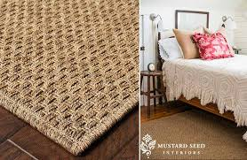 indoor outdoor jute inspired rug pick your size