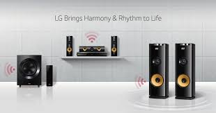 LG Home Audio Single  MultiSpeaker Systems LG USA - Home sound system design