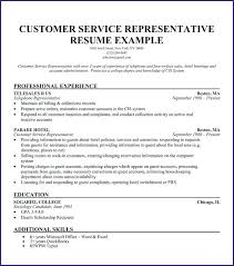 Functional Resumes Samples Best Of Example Of Customer Service Resume Customer Service Resume Sample