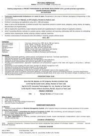 It Resume Format Samples For It Cv Naukri Com Mid Levelv Cover Letter
