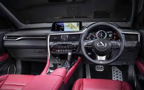 2018 lexus 350 suv. perfect lexus 2018 lexus rx 350 f sport interior inside lexus suv