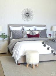master bedroom decorating ideas gray. White Master Bedroom Neutral Gray And Geometric Wallpaper Designs . Decorating Ideas