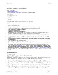 word doc resume