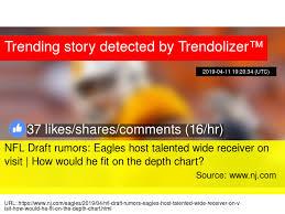Nfl Draft Rumors Eagles Host Talented Wide Receiver On