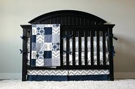 blue and gray baby bedding navy blue chevron crib bedding navy blue gray white chevron baby