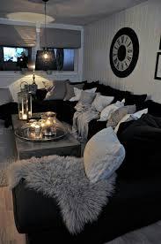 Elegant Black And White Living Room Interior Design Ideas Good Ideas