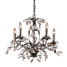 tasty elk lighting chandelier elk lighting deep rust 5 light chandelier elk lighting dione chandelier