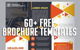 Free Brochure Layouts 60 Free Brochure Templates Graphic Design Resources