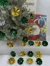 Vintage Christmas Light Reflectors For Sale Vintage Light Reflectors Reflectors Christmas Tree Reflectors Mini Light Reflectors Mini Reflectors