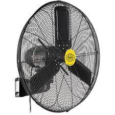 outdoor oscillating wall mounted fan 24 in diameter 3 10hp 7700cfm