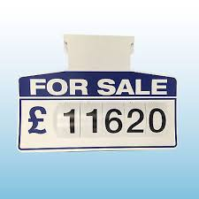 auto for sale sign 12 x car for sale sign board auto price board sun visor unit white