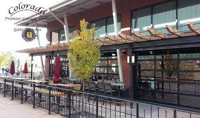 glass garage doors restaurant. Fine Restaurant Glass Restaurant Garage Doors In Denver Colorado Intended Doors