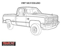 free coloring pages of chevy truck 6486 bestofcoloring com best