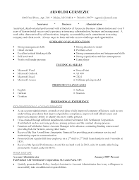 Awesome Collection of Sample Resume For Career Change In Summary
