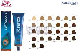 Wella Koleston Perfect Color Chart World Of Printables