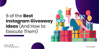 6 of the best insram giveaway ideas