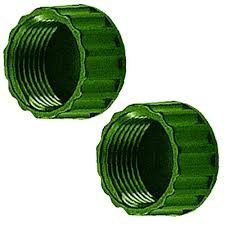 replacement sprinkler garden hose end caps 2 pack