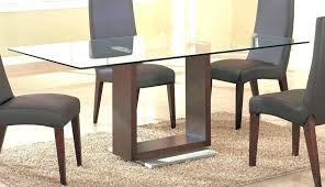 round wooden table with glass top dining room table base glass round wood top winsome rooms