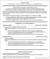 Manager Resume Template Microsoft Word