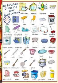 kitchen utensils list. Kitchen Utensils List S