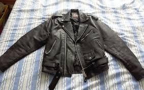 negan style black leather jacket