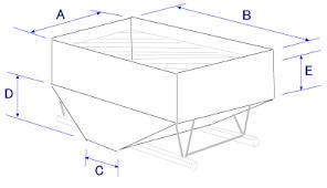Online Conversion Volume Of A Grain Gravity Wagon