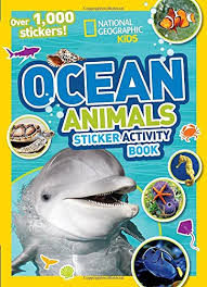 ocean s sticker activity book over 1 000 stickers national geographic sticker activity book