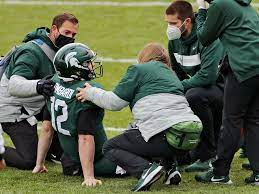 Michigan State QB Rocky Lombardi out vs ...